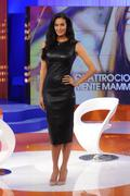 Меган Гэйл, фото 246. Megan Gale on Italian tv show 'Verissimo' - 04/11/11, foto 246