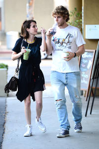 Emma Roberts Going to Earth Bar in LA 06-30-2014