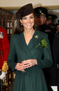 Kate Middleton in Aldershot 17th March x6