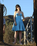 Zooey Deschanel - on the set of a photo shoot at the Sunset Ranch in LA 11/03/12