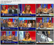 DARI ALEXANDER  - Fox&Friends - Aug12,2009 - *legs*