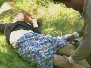 Brutal rape of a peasant woman