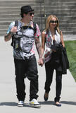 Nicole Richie and Joel Madden went to LACMA 10.6.08
