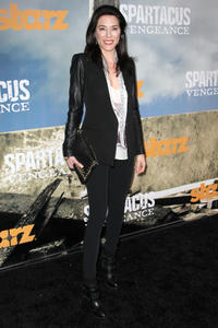 Джейм Мюррэй, фото 47. Jaime Murray - Spartacus Vengeance premiere in Los Angeles - 01/18/12, foto 47