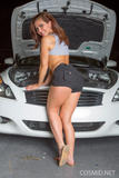Stephy Parker - Stephys Working On The Car -64foaacuah.jpg