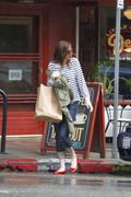 Мэнди Мур, фото 3384. Mandy Moore - leaving Little Dom's restaurant in California 02/15/12, foto 3384