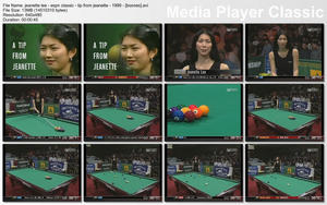 JEANETTE LEE -  &amp;quot;ESPN: A Tip from Jeanette&amp;quot; - *billiards babe!*