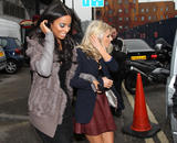 Сетедейс, фото 499. The Saturdays Arriving to a music studio in London - 14.11.2011, foto 499
